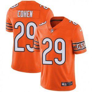 Bears Tarik Cohen Orange Jersey